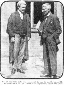 Photo of Coyle and Gonsalves 1920